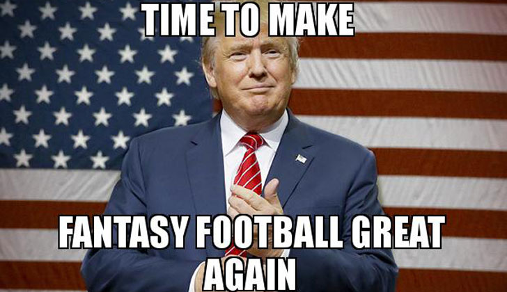 Fantasy Football Trump